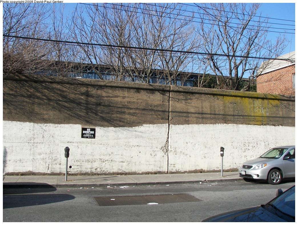 (417k, 1044x788)<br><b>Country:</b> United States<br><b>City:</b> New York<br><b>System:</b> New York City Transit<br><b>Line:</b> BMT Brighton Line<br><b>Location:</b> Neck Road <br><b>Photo by:</b> David-Paul Gerber<br><b>Date:</b> 2/3/2008<br><b>Notes:</b> Remains of LIRR Manhattan Beach Neck Road station.<br><b>Viewed (this week/total):</b> 1 / 2435