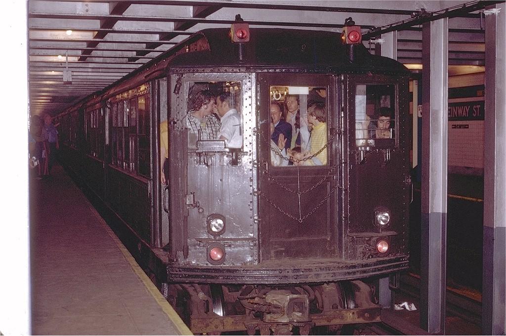 (257k, 1024x681)<br><b>Country:</b> United States<br><b>City:</b> New York<br><b>System:</b> New York City Transit<br><b>Line:</b> IND Queens Boulevard Line<br><b>Location:</b> Steinway Street <br><b>Route:</b> Fan Trip<br><b>Car:</b> Low-V (Museum Train) 5290 <br><b>Photo by:</b> Joe Testagrose<br><b>Date:</b> 8/5/1972<br><b>Viewed (this week/total):</b> 0 / 4799