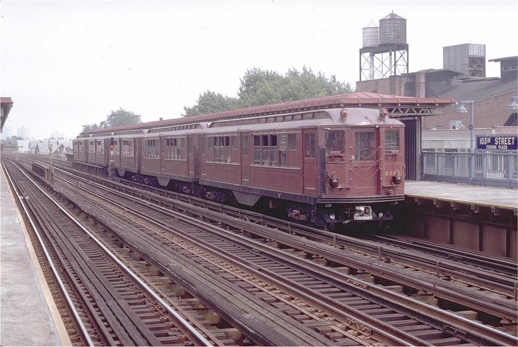 (216k, 1024x687)<br><b>Country:</b> United States<br><b>City:</b> New York<br><b>System:</b> New York City Transit<br><b>Line:</b> IRT Flushing Line<br><b>Location:</b> 103rd Street/Corona Plaza <br><b>Route:</b> Fan Trip<br><b>Car:</b> Low-V (Museum Train) 5292 <br><b>Photo by:</b> Doug Grotjahn<br><b>Collection of:</b> Joe Testagrose<br><b>Date:</b> 8/1/1979<br><b>Viewed (this week/total):</b> 2 / 3865