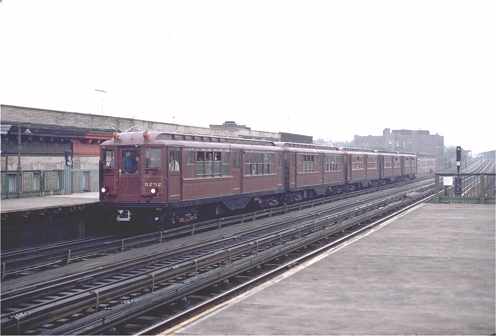 (169k, 1024x693)<br><b>Country:</b> United States<br><b>City:</b> New York<br><b>System:</b> New York City Transit<br><b>Line:</b> BMT West End Line<br><b>Location:</b> 50th Street <br><b>Route:</b> Fan Trip<br><b>Car:</b> Low-V (Museum Train) 5292 <br><b>Photo by:</b> Gerald H. Landau<br><b>Collection of:</b> Joe Testagrose<br><b>Date:</b> 5/12/1979<br><b>Viewed (this week/total):</b> 0 / 2663