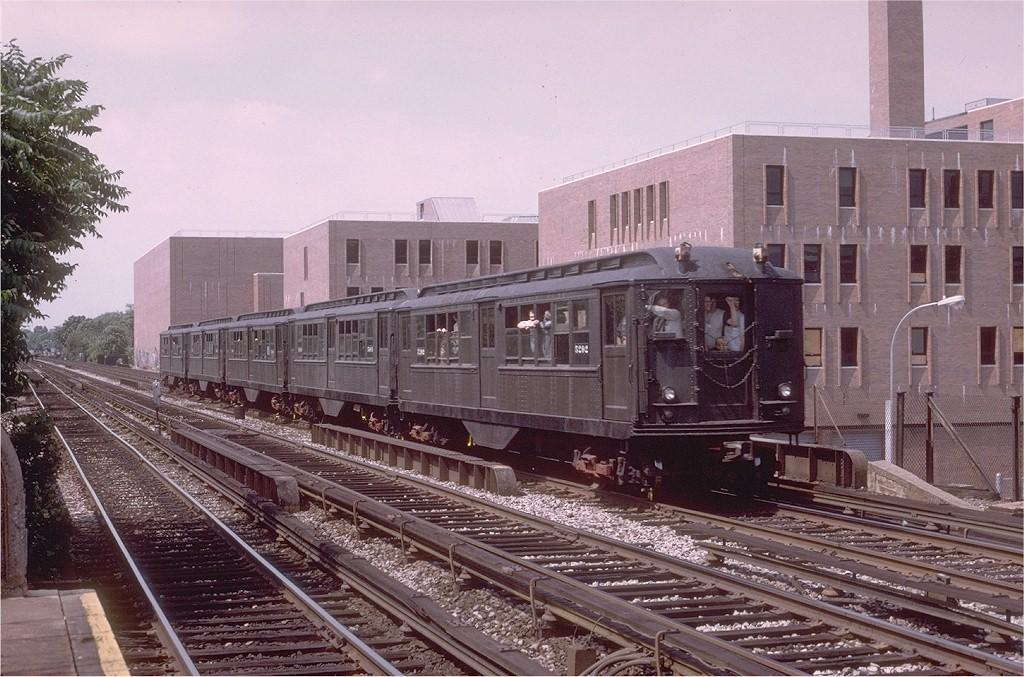 (226k, 1024x677)<br><b>Country:</b> United States<br><b>City:</b> New York<br><b>System:</b> New York City Transit<br><b>Line:</b> BMT Brighton Line<br><b>Location:</b> Avenue M <br><b>Route:</b> Fan Trip<br><b>Car:</b> Low-V (Museum Train) 5292 <br><b>Photo by:</b> Joe Testagrose<br><b>Date:</b> 6/22/1975<br><b>Viewed (this week/total):</b> 0 / 3874