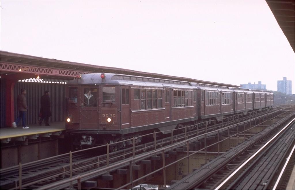 (128k, 1024x659)<br><b>Country:</b> United States<br><b>City:</b> New York<br><b>System:</b> New York City Transit<br><b>Line:</b> IRT Brooklyn Line<br><b>Location:</b> Sutter Avenue/Rutland Road <br><b>Route:</b> Fan Trip<br><b>Car:</b> Low-V (Museum Train) 5292 <br><b>Photo by:</b> Steve Zabel<br><b>Collection of:</b> Joe Testagrose<br><b>Date:</b> 11/3/1979<br><b>Viewed (this week/total):</b> 0 / 4434