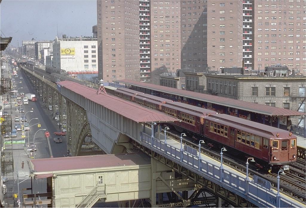 (284k, 1024x698)<br><b>Country:</b> United States<br><b>City:</b> New York<br><b>System:</b> New York City Transit<br><b>Line:</b> IRT West Side Line<br><b>Location:</b> 125th Street <br><b>Route:</b> Fan Trip<br><b>Car:</b> Low-V (Museum Train) 5443 <br><b>Photo by:</b> Steve Zabel<br><b>Collection of:</b> Joe Testagrose<br><b>Date:</b> 3/8/1979<br><b>Viewed (this week/total):</b> 2 / 8939