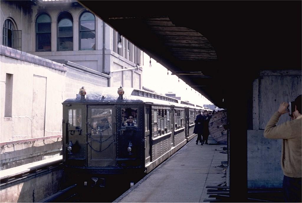(156k, 1024x690)<br><b>Country:</b> United States<br><b>City:</b> New York<br><b>System:</b> New York City Transit<br><b>Line:</b> IRT White Plains Road Line<br><b>Location:</b> East 180th Street <br><b>Route:</b> Fan Trip<br><b>Car:</b> Low-V (Museum Train) 5443 <br><b>Photo by:</b> Steve Zabel<br><b>Collection of:</b> Joe Testagrose<br><b>Date:</b> 4/25/1970<br><b>Viewed (this week/total):</b> 1 / 3180