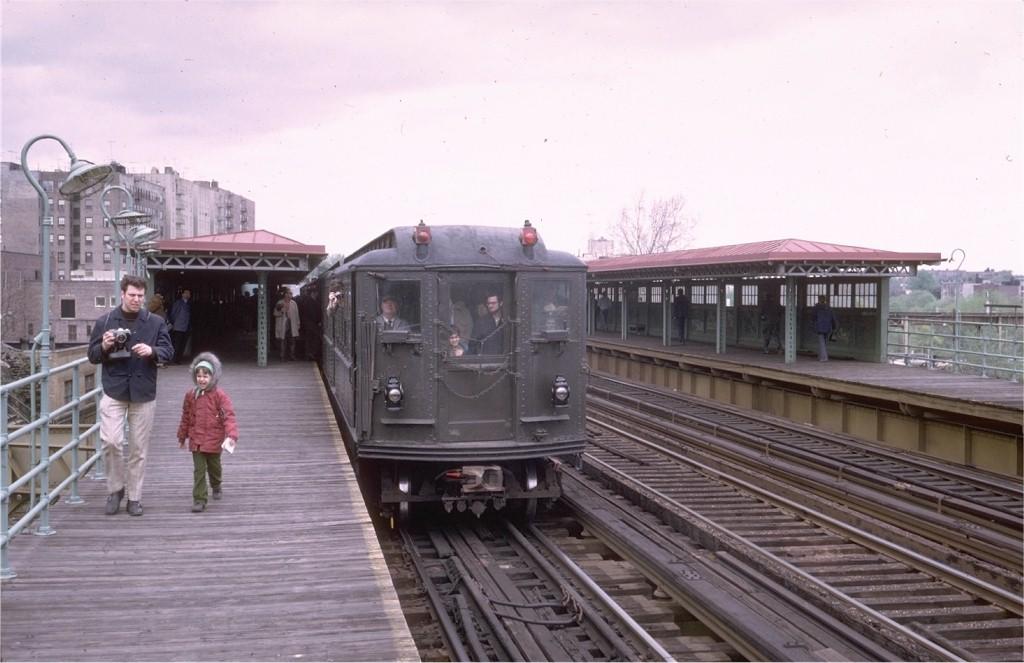 (158k, 1024x663)<br><b>Country:</b> United States<br><b>City:</b> New York<br><b>System:</b> New York City Transit<br><b>Line:</b> 3rd Avenue El<br><b>Location:</b> 210th Street <br><b>Route:</b> Fan Trip<br><b>Car:</b> Low-V (Museum Train) 5443 <br><b>Photo by:</b> Joe Testagrose<br><b>Date:</b> 4/29/1973<br><b>Notes:</b> Fantrip held day after closure of 3rd Avenue El<br><b>Viewed (this week/total):</b> 0 / 4796
