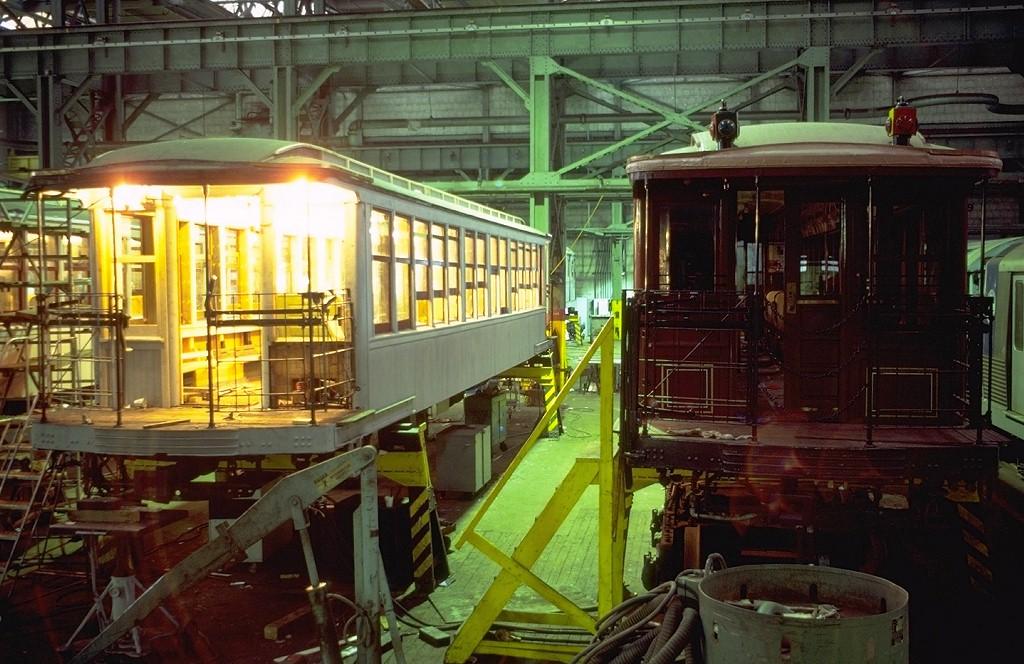 (216k, 1024x664)<br><b>Country:</b> United States<br><b>City:</b> New York<br><b>System:</b> New York City Transit<br><b>Location:</b> Coney Island Shop/Overhaul & Repair Shop<br><b>Car:</b> BMT Elevated Gate Car 1273 <br><b>Photo by:</b> Steve Zabel<br><b>Collection of:</b> Joe Testagrose<br><b>Date:</b> 7/4/1979<br><b>Viewed (this week/total):</b> 3 / 3010