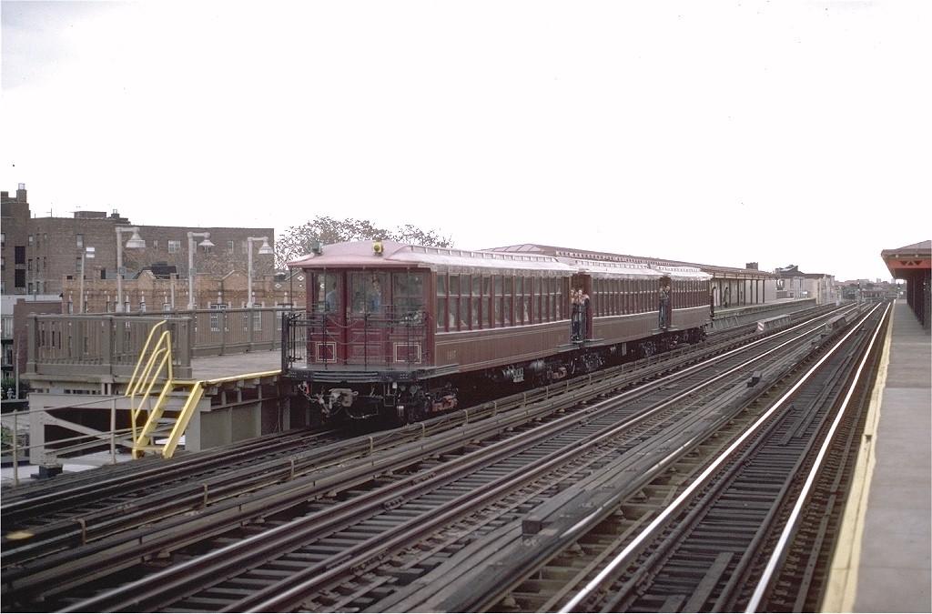 (176k, 1024x675)<br><b>Country:</b> United States<br><b>City:</b> New York<br><b>System:</b> New York City Transit<br><b>Line:</b> BMT West End Line<br><b>Location:</b> 50th Street <br><b>Route:</b> Fan Trip<br><b>Car:</b> BMT Elevated Gate Car 1407-1273-1404 <br><b>Photo by:</b> Steve Zabel<br><b>Collection of:</b> Joe Testagrose<br><b>Date:</b> 11/1/1980<br><b>Viewed (this week/total):</b> 0 / 2841