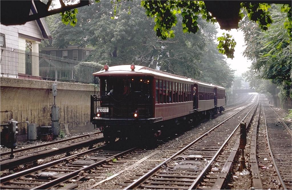(311k, 1024x667)<br><b>Country:</b> United States<br><b>City:</b> New York<br><b>System:</b> New York City Transit<br><b>Line:</b> BMT Brighton Line<br><b>Location:</b> Newkirk Plaza (fmrly Newkirk Ave.) <br><b>Route:</b> Fan Trip<br><b>Car:</b> BMT Elevated Gate Car 1407-1273-1404 <br><b>Photo by:</b> Steve Zabel<br><b>Collection of:</b> Joe Testagrose<br><b>Date:</b> 8/30/1980<br><b>Viewed (this week/total):</b> 0 / 3989