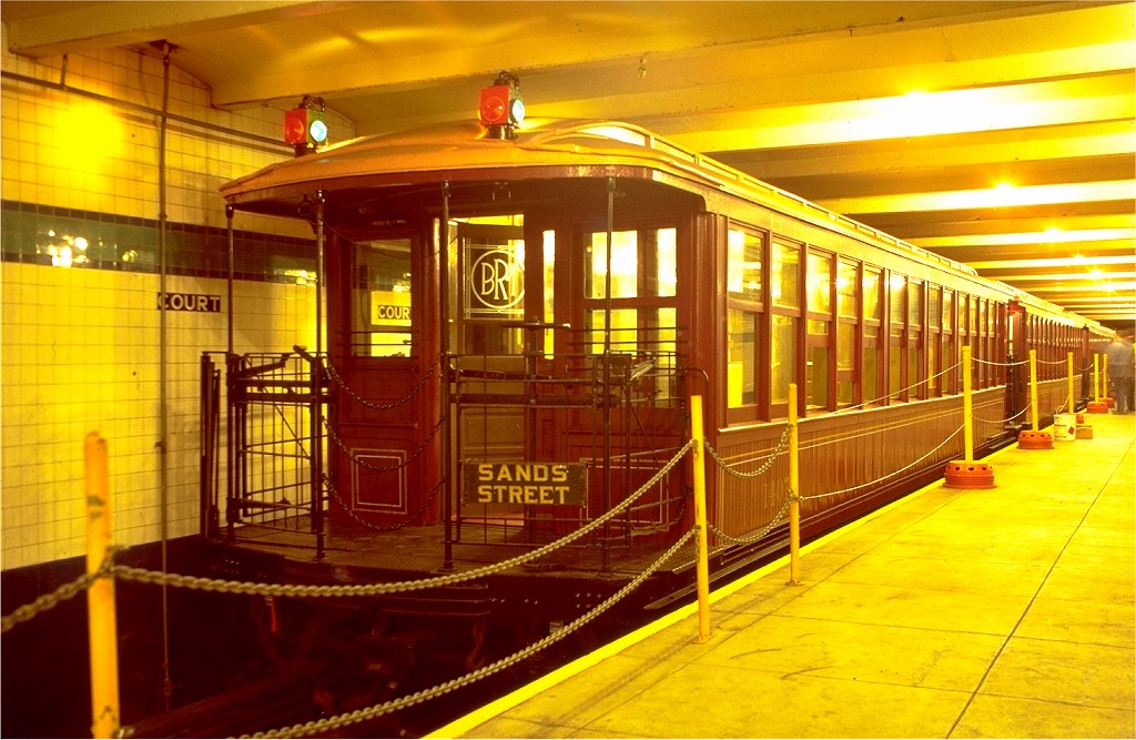 (206k, 1024x667)<br><b>Country:</b> United States<br><b>City:</b> New York<br><b>System:</b> New York City Transit<br><b>Location:</b> New York Transit Museum<br><b>Car:</b> BMT Elevated Gate Car 1407 <br><b>Photo by:</b> Joe Testagrose<br><b>Date:</b> 9/14/1979<br><b>Viewed (this week/total):</b> 0 / 7787