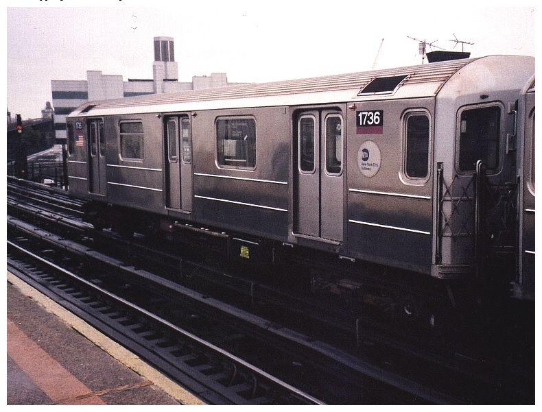 (83k, 790x601)<br><b>Country:</b> United States<br><b>City:</b> New York<br><b>System:</b> New York City Transit<br><b>Line:</b> IRT Flushing Line<br><b>Location:</b> Court House Square/45th Road <br><b>Route:</b> 7<br><b>Car:</b> R-62A (Bombardier, 1984-1987)  1736 <br><b>Photo by:</b> Gary Chatterton<br><b>Date:</b> 12/7/2002<br><b>Viewed (this week/total):</b> 3 / 2425