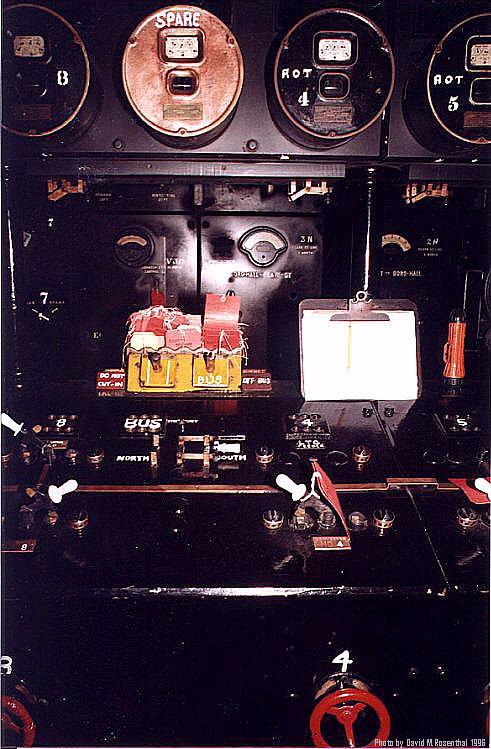 (95k, 491x749)<br><b>Country:</b> United States<br><b>City:</b> New York<br><b>System:</b> New York City Transit<br><b>Location:</b> IRT Substation 21<br><b>Photo by:</b> David M. Rosenthal<br><b>Date:</b> 10/22/1996<br><b>Notes:</b> AC switch gear console.<br><b>Viewed (this week/total):</b> 0 / 11693