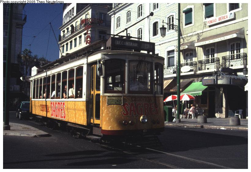 (125k, 820x561)<br><b>Country:</b> Portugal<br><b>City:</b> Lisbon<br><b>System:</b> Companhia Carris De Ferro De Lisboa <br><b>Location:</b> Praça da Figueira<br><b>Route:</b> Rt. 19<br><b>Car:</b> Carros Americanos 4-axle (Brill, 1906)  339 <br><b>Photo by:</b> Theo Neutelings<br><b>Date:</b> 7/29/1990<br><b>Viewed (this week/total):</b> 1 / 1641