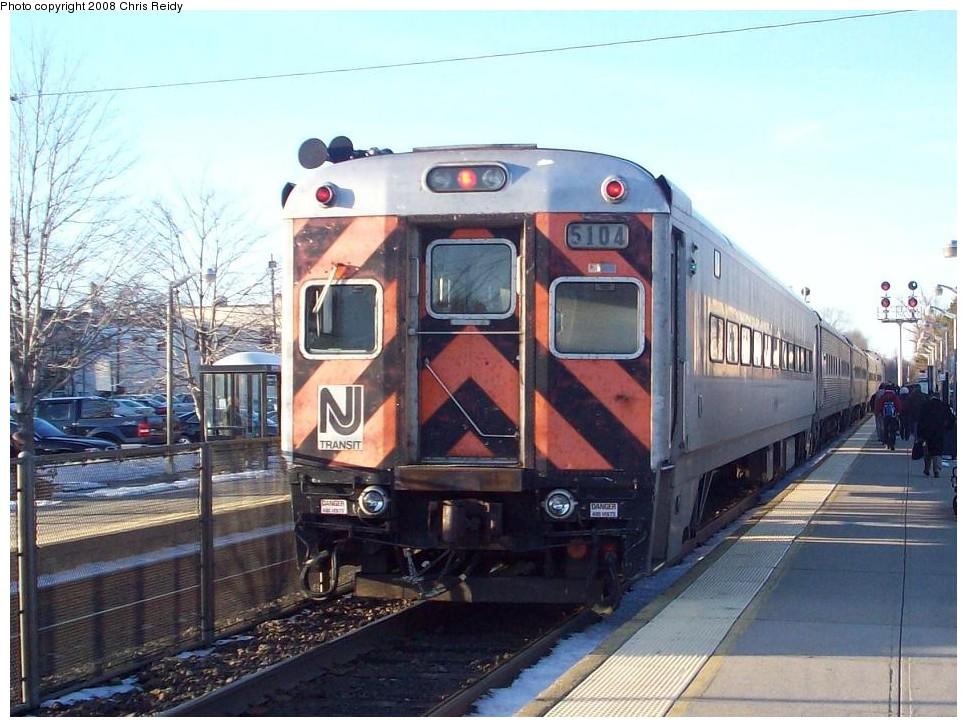 (199k, 967x727)<br><b>Country:</b> United States<br><b>System:</b> NJ Transit (or Predecessor)<br><b>Line:</b> NJT Main/Bergen Line<br><b>Location:</b> Ramsey<br><b>Car:</b> NJT Comet I 5104 <br><b>Photo by:</b> Chris Reidy<br><b>Date:</b> 2/14/2008<br><b>Viewed (this week/total):</b> 0 / 1152