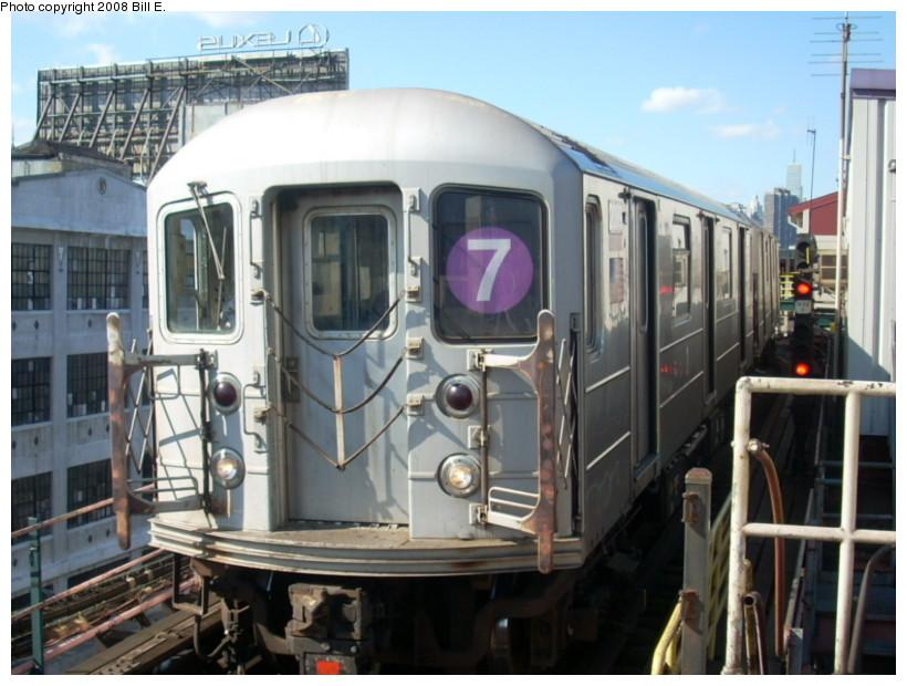 (163k, 820x620)<br><b>Country:</b> United States<br><b>City:</b> New York<br><b>System:</b> New York City Transit<br><b>Line:</b> IRT Flushing Line<br><b>Location:</b> Queensborough Plaza <br><b>Route:</b> 7<br><b>Car:</b> R-62A (Bombardier, 1984-1987)  2099 <br><b>Photo by:</b> Bill E.<br><b>Date:</b> 2/19/2008<br><b>Viewed (this week/total):</b> 0 / 1351
