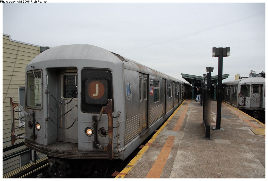 (145k, 1044x706)<br><b>Country:</b> United States<br><b>City:</b> New York<br><b>System:</b> New York City Transit<br><b>Line:</b> BMT Myrtle Avenue Line<br><b>Location:</b> Seneca Avenue <br><b>Route:</b> J reroute.<br><b>Car:</b> R-42 (St. Louis, 1969-1970)  4775 <br><b>Photo by:</b> Richard Panse<br><b>Date:</b> 2/17/2008<br><b>Viewed (this week/total):</b> 1 / 1385