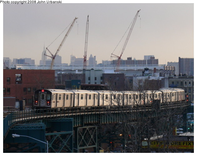 (81k, 632x500)<br><b>Country:</b> United States<br><b>City:</b> New York<br><b>System:</b> New York City Transit<br><b>Line:</b> IRT Woodlawn Line<br><b>Location:</b> 167th Street <br><b>Route:</b> 4<br><b>Car:</b> R-142 or R-142A (Number Unknown)  <br><b>Photo by:</b> John Urbanski<br><b>Date:</b> 2/19/2008<br><b>Viewed (this week/total):</b> 1 / 2590