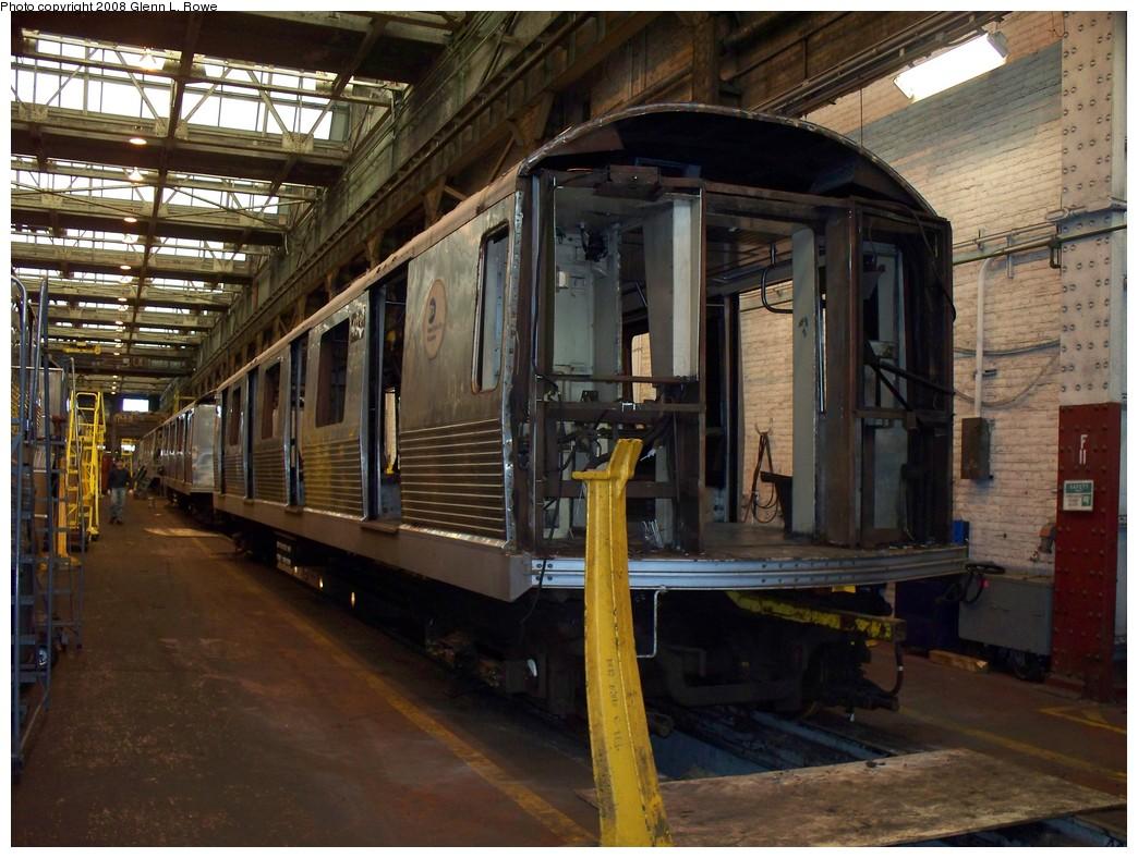 (239k, 1044x788)<br><b>Country:</b> United States<br><b>City:</b> New York<br><b>System:</b> New York City Transit<br><b>Location:</b> 207th Street Shop<br><b>Car:</b> R-42 (St. Louis, 1969-1970)  4931 <br><b>Photo by:</b> Glenn L. Rowe<br><b>Date:</b> 2/21/2008<br><b>Viewed (this week/total):</b> 1 / 1394