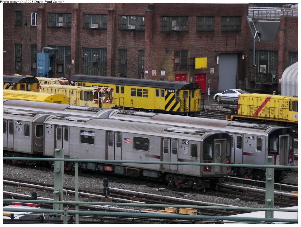 (314k, 1044x788)<br><b>Country:</b> United States<br><b>City:</b> New York<br><b>System:</b> New York City Transit<br><b>Location:</b> 207th Street Yard<br><b>Car:</b> R-142 (Primary Order, Bombardier, 1999-2002)  6380 <br><b>Photo by:</b> David-Paul Gerber<br><b>Date:</b> 2/18/2008<br><b>Viewed (this week/total):</b> 0 / 1994