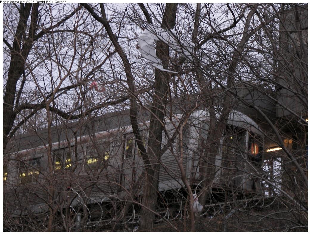 (390k, 1044x788)<br><b>Country:</b> United States<br><b>City:</b> New York<br><b>System:</b> New York City Transit<br><b>Line:</b> BMT Myrtle Avenue Line<br><b>Location:</b> Metropolitan Avenue <br><b>Route:</b> J reroute<br><b>Car:</b> R-42 (St. Louis, 1969-1970)  4805 <br><b>Photo by:</b> David-Paul Gerber<br><b>Date:</b> 2/17/2008<br><b>Viewed (this week/total):</b> 1 / 2401