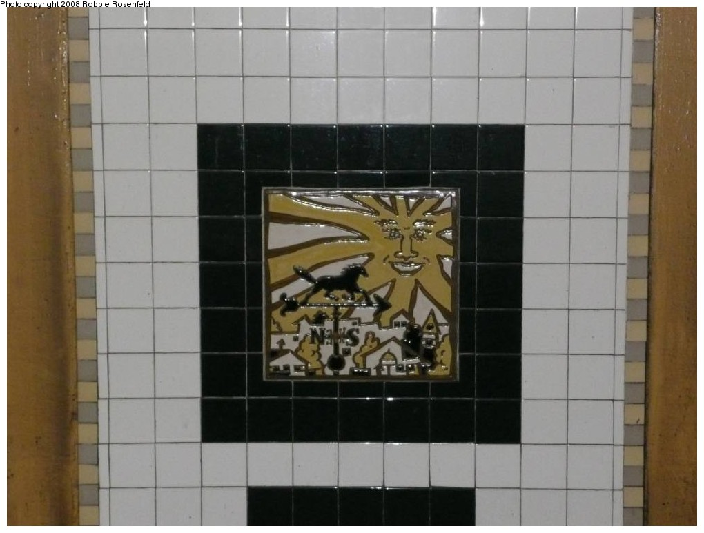 (160k, 1020x773)<br><b>Country:</b> United States<br><b>City:</b> New York<br><b>System:</b> New York City Transit<br><b>Line:</b> IRT Brooklyn Line<br><b>Location:</b> Utica Avenue <br><b>Photo by:</b> Robbie Rosenfeld<br><b>Date:</b> 2/27/2008<br><b>Artwork:</b> <i>Good Morning, Good Night</i>, Hugo Consuegra.<br><b>Viewed (this week/total):</b> 5 / 1511