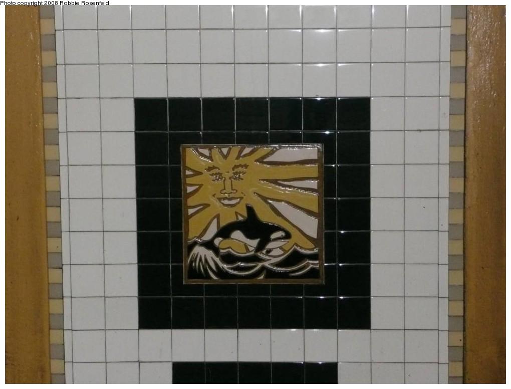 (156k, 1020x776)<br><b>Country:</b> United States<br><b>City:</b> New York<br><b>System:</b> New York City Transit<br><b>Line:</b> IRT Brooklyn Line<br><b>Location:</b> Utica Avenue <br><b>Photo by:</b> Robbie Rosenfeld<br><b>Date:</b> 2/27/2008<br><b>Artwork:</b> <i>Good Morning, Good Night</i>, Hugo Consuegra.<br><b>Viewed (this week/total):</b> 4 / 1498