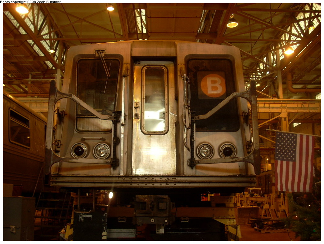 (265k, 1044x788)<br><b>Country:</b> United States<br><b>City:</b> New York<br><b>System:</b> New York City Transit<br><b>Location:</b> Coney Island Shop/Overhaul & Repair Shop<br><b>Car:</b> R-40 (St. Louis, 1968)  4187 <br><b>Photo by:</b> Zach Summer<br><b>Date:</b> 12/20/2007<br><b>Viewed (this week/total):</b> 0 / 1028