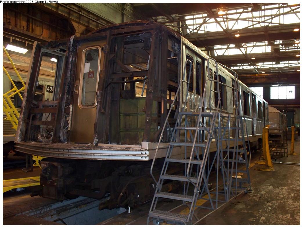 (250k, 1044x788)<br><b>Country:</b> United States<br><b>City:</b> New York<br><b>System:</b> New York City Transit<br><b>Location:</b> 207th Street Shop<br><b>Car:</b> R-40 (St. Louis, 1968)  4387 <br><b>Photo by:</b> Glenn L. Rowe<br><b>Date:</b> 3/6/2008<br><b>Viewed (this week/total):</b> 1 / 3669
