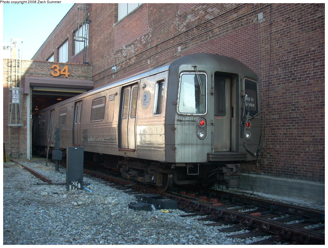 (329k, 1044x788)<br><b>Country:</b> United States<br><b>City:</b> New York<br><b>System:</b> New York City Transit<br><b>Location:</b> Coney Island Yard<br><b>Car:</b> R-68 (Westinghouse-Amrail, 1986-1988)  2680 <br><b>Photo by:</b> Zach Summer<br><b>Date:</b> 12/20/2007<br><b>Viewed (this week/total):</b> 2 / 2077