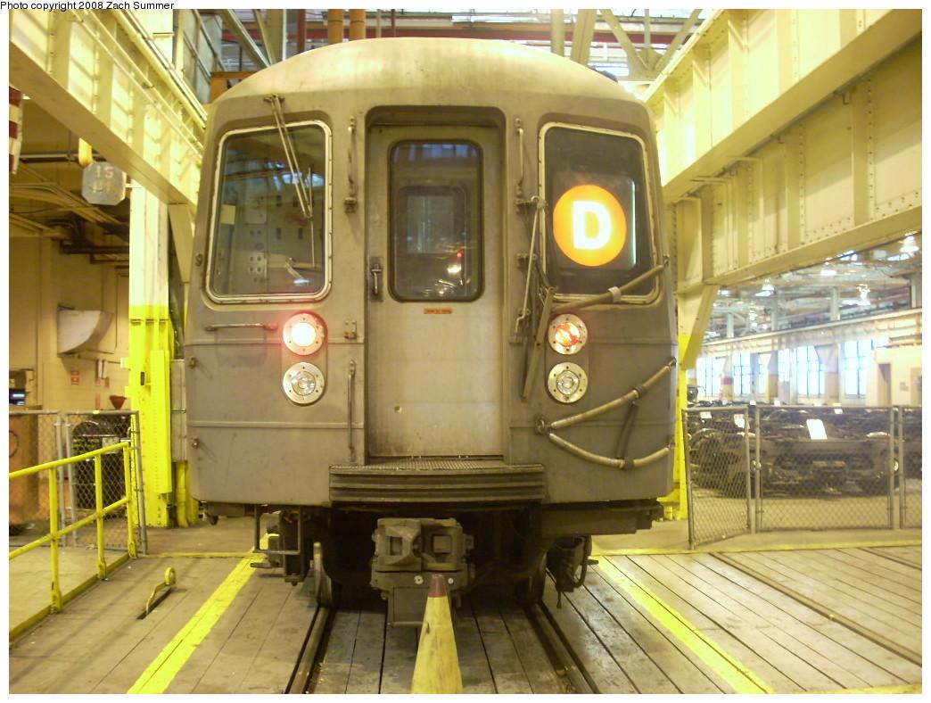 (264k, 1044x788)<br><b>Country:</b> United States<br><b>City:</b> New York<br><b>System:</b> New York City Transit<br><b>Location:</b> Coney Island Shop/Overhaul & Repair Shop<br><b>Car:</b> R-68 (Westinghouse-Amrail, 1986-1988)  2682 <br><b>Photo by:</b> Zach Summer<br><b>Date:</b> 12/20/2007<br><b>Viewed (this week/total):</b> 0 / 1325