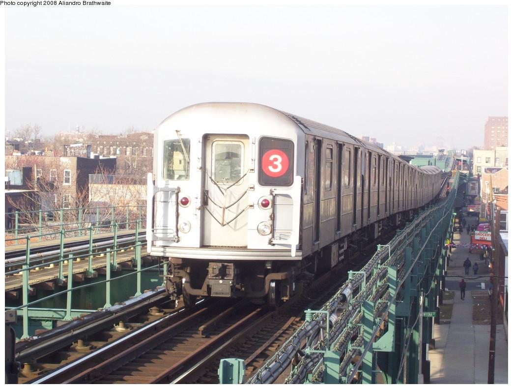 (234k, 1044x791)<br><b>Country:</b> United States<br><b>City:</b> New York<br><b>System:</b> New York City Transit<br><b>Line:</b> IRT Brooklyn Line<br><b>Location:</b> Van Siclen Avenue <br><b>Route:</b> 3<br><b>Car:</b> R-62 (Kawasaki, 1983-1985)  1495 <br><b>Photo by:</b> Aliandro Brathwaite<br><b>Date:</b> 3/7/2008<br><b>Viewed (this week/total):</b> 0 / 2275