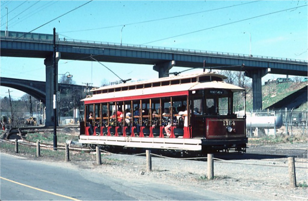 (168k, 1024x668)<br><b>Country:</b> United States<br><b>City:</b> Baltimore, MD<br><b>System:</b> Baltimore Streetcar Museum <br><b>Car:</b>  1164 <br><b>Photo by:</b> Doug Grotjahn<br><b>Collection of:</b> Joe Testagrose<br><b>Date:</b> 3/28/1976<br><b>Viewed (this week/total):</b> 0 / 883