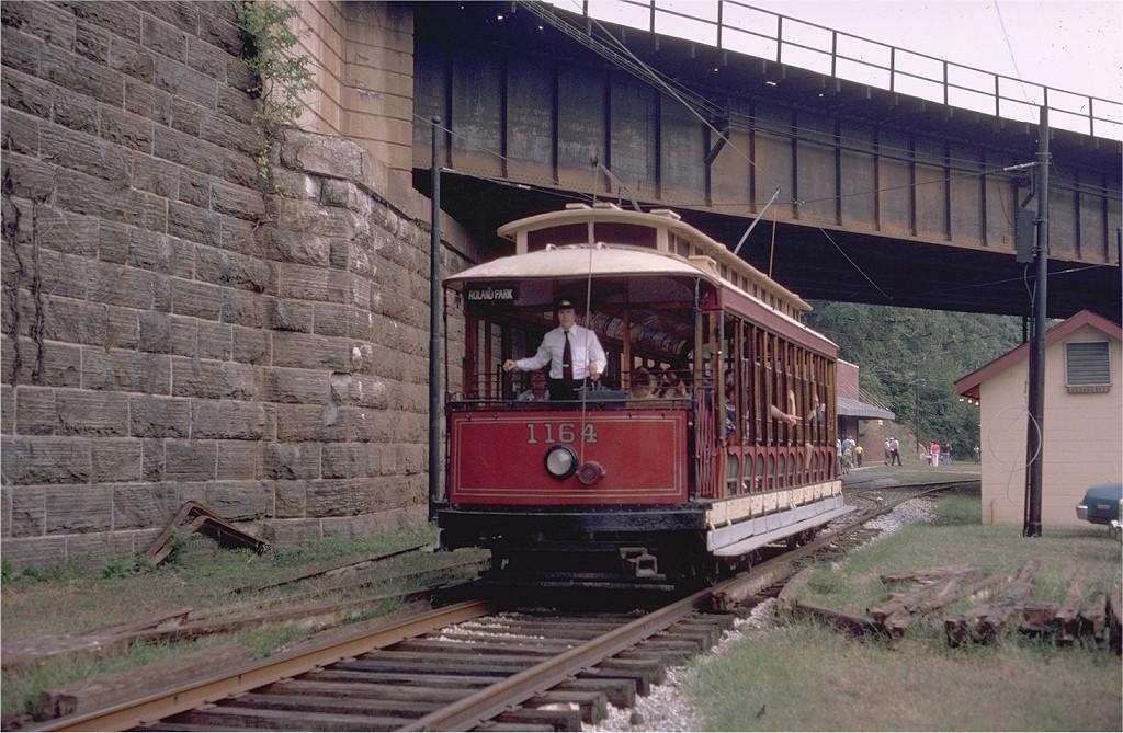 (224k, 1024x669)<br><b>Country:</b> United States<br><b>City:</b> Baltimore, MD<br><b>System:</b> Baltimore Streetcar Museum <br><b>Car:</b>  1164 <br><b>Photo by:</b> Steve Zabel<br><b>Collection of:</b> Joe Testagrose<br><b>Date:</b> 9/14/1980<br><b>Viewed (this week/total):</b> 1 / 860