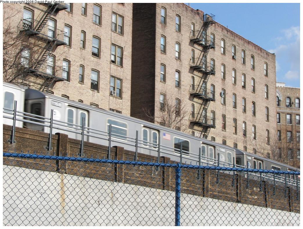 (395k, 1044x788)<br><b>Country:</b> United States<br><b>City:</b> New York<br><b>System:</b> New York City Transit<br><b>Line:</b> IRT Woodlawn Line<br><b>Location:</b> 161st Street/River Avenue (Yankee Stadium) <br><b>Route:</b> 4<br><b>Car:</b> R-142 (Option Order, Bombardier, 2002-2003)  1168 <br><b>Photo by:</b> David-Paul Gerber<br><b>Date:</b> 3/15/2008<br><b>Viewed (this week/total):</b> 1 / 2545