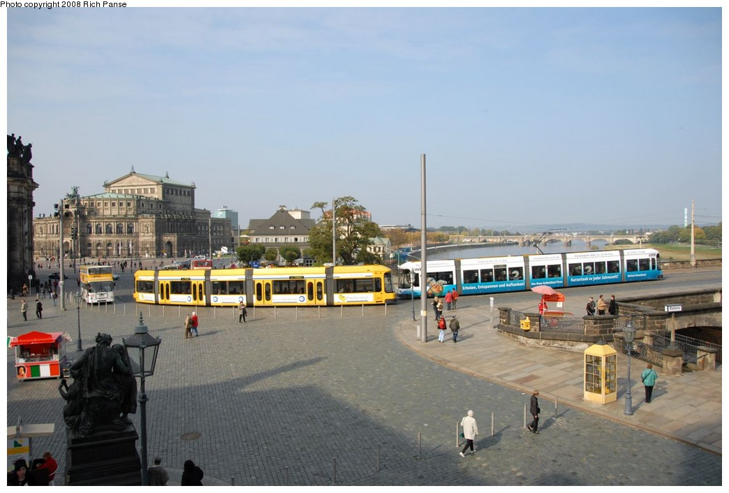 (159k, 1044x706)<br><b>Country:</b> Germany<br><b>City:</b> Dresden<br><b>System:</b> DVB (Dresdner Verkehrsbetriebe)<br><b>Route:</b> 4<br><b>Car:</b> Bombardier NGT8DD  2700/2800-series 2796 <br><b>Photo by:</b> Richard Panse<br><b>Date:</b> 10/10/2007<br><b>Viewed (this week/total):</b> 1 / 611