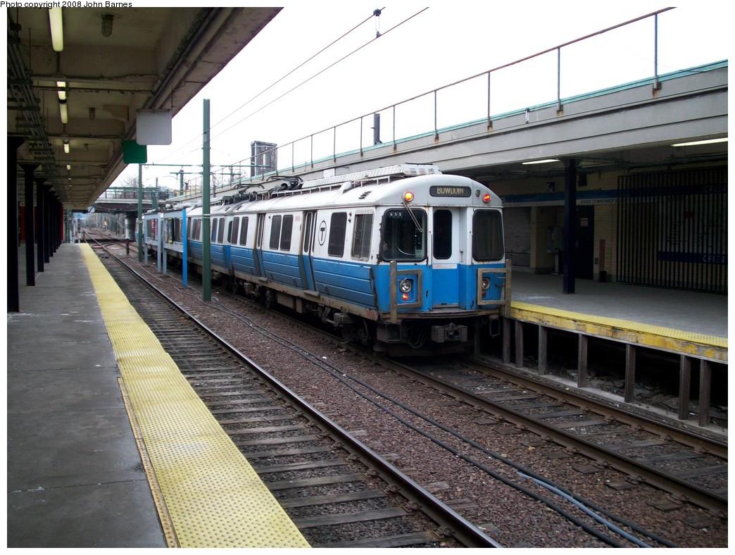 (245k, 1044x788)<br><b>Country:</b> United States<br><b>City:</b> Boston, MA<br><b>System:</b> MBTA<br><b>Line:</b> MBTA Blue Line<br><b>Location:</b> Orient Heights <br><b>Car:</b> MBTA 0600 Series (Hawker-Siddley, 1978-1980)  0655 <br><b>Photo by:</b> John Barnes<br><b>Date:</b> 2/12/2008<br><b>Viewed (this week/total):</b> 0 / 1188