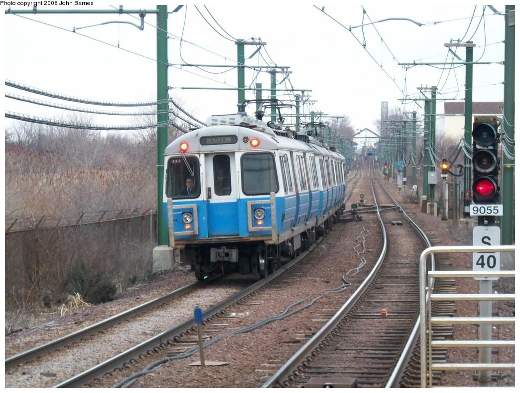 (249k, 1044x788)<br><b>Country:</b> United States<br><b>City:</b> Boston, MA<br><b>System:</b> MBTA<br><b>Line:</b> MBTA Blue Line<br><b>Location:</b> Suffolk Downs <br><b>Car:</b> MBTA 0600 Series (Hawker-Siddley, 1978-1980)  0665 <br><b>Photo by:</b> John Barnes<br><b>Date:</b> 2/12/2008<br><b>Viewed (this week/total):</b> 0 / 1138