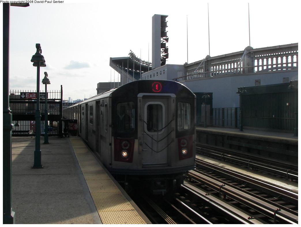 (227k, 1044x788)<br><b>Country:</b> United States<br><b>City:</b> New York<br><b>System:</b> New York City Transit<br><b>Line:</b> IRT Woodlawn Line<br><b>Location:</b> 161st Street/River Avenue (Yankee Stadium) <br><b>Route:</b> 4<br><b>Car:</b> R-142 (Option Order, Bombardier, 2002-2003)  7171 <br><b>Photo by:</b> David-Paul Gerber<br><b>Date:</b> 3/15/2008<br><b>Viewed (this week/total):</b> 1 / 1990