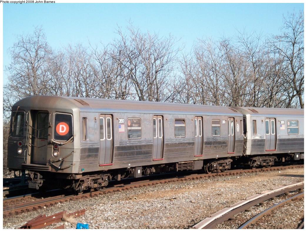 (315k, 1044x788)<br><b>Country:</b> United States<br><b>City:</b> New York<br><b>System:</b> New York City Transit<br><b>Line:</b> BMT West End Line<br><b>Location:</b> 9th Avenue <br><b>Route:</b> D<br><b>Car:</b> R-68 (Westinghouse-Amrail, 1986-1988)  2650 <br><b>Photo by:</b> John Barnes<br><b>Date:</b> 3/17/2008<br><b>Viewed (this week/total):</b> 0 / 1753