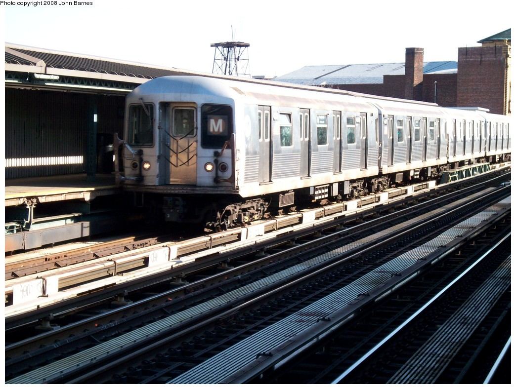 (249k, 1044x788)<br><b>Country:</b> United States<br><b>City:</b> New York<br><b>System:</b> New York City Transit<br><b>Line:</b> BMT West End Line<br><b>Location:</b> Fort Hamilton Parkway <br><b>Route:</b> M<br><b>Car:</b> R-42 (St. Louis, 1969-1970)  4670 <br><b>Photo by:</b> John Barnes<br><b>Date:</b> 3/17/2008<br><b>Viewed (this week/total):</b> 0 / 1709
