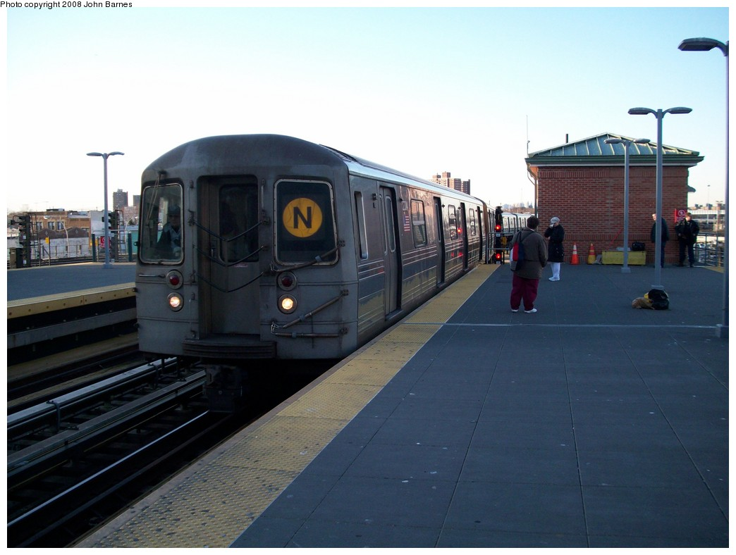(170k, 1044x788)<br><b>Country:</b> United States<br><b>City:</b> New York<br><b>System:</b> New York City Transit<br><b>Location:</b> Coney Island/Stillwell Avenue<br><b>Route:</b> N<br><b>Car:</b> R-68 (Westinghouse-Amrail, 1986-1988)  2804 <br><b>Photo by:</b> John Barnes<br><b>Date:</b> 3/17/2008<br><b>Viewed (this week/total):</b> 0 / 1816