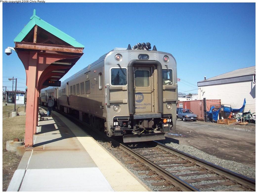 (228k, 1044x788)<br><b>Country:</b> United States<br><b>System:</b> NJ Transit (or Predecessor)<br><b>Line:</b> NJT Pascack Valley Line<br><b>Location:</b> Nanuet <br><b>Car:</b> MNRR Comet V 6711 <br><b>Photo by:</b> Chris Reidy<br><b>Date:</b> 3/21/2008<br><b>Viewed (this week/total):</b> 0 / 1319