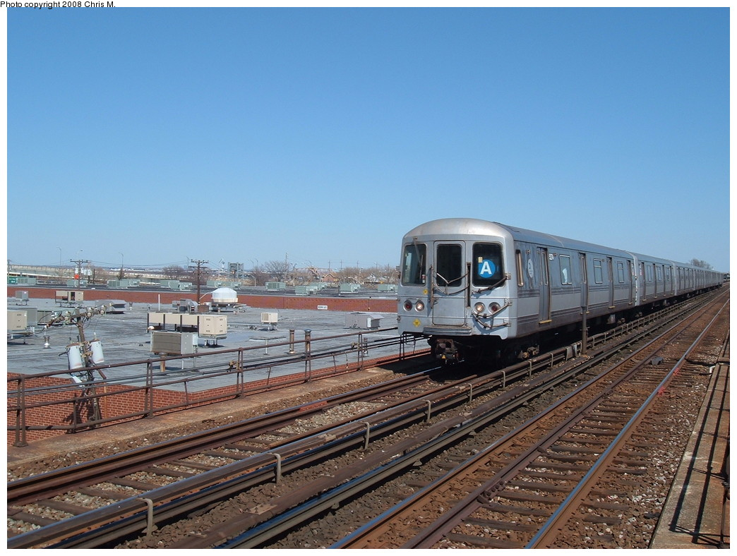 (241k, 1044x788)<br><b>Country:</b> United States<br><b>City:</b> New York<br><b>System:</b> New York City Transit<br><b>Line:</b> IND Rockaway<br><b>Location:</b> Beach 98th Street/Playland <br><b>Route:</b> A<br><b>Car:</b> R-44 (St. Louis, 1971-73) 5274 <br><b>Photo by:</b> Chris M.<br><b>Date:</b> 3/29/2008<br><b>Viewed (this week/total):</b> 1 / 1679