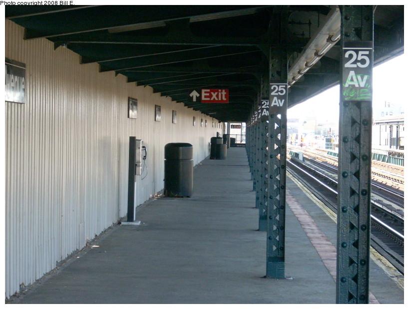 (164k, 819x619)<br><b>Country:</b> United States<br><b>City:</b> New York<br><b>System:</b> New York City Transit<br><b>Line:</b> BMT West End Line<br><b>Location:</b> 25th Avenue <br><b>Photo by:</b> Bill E.<br><b>Date:</b> 3/23/2008<br><b>Viewed (this week/total):</b> 1 / 1061