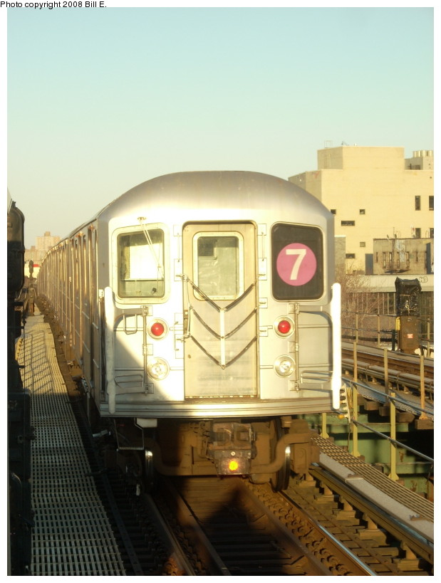 (150k, 619x819)<br><b>Country:</b> United States<br><b>City:</b> New York<br><b>System:</b> New York City Transit<br><b>Line:</b> IRT Flushing Line<br><b>Location:</b> Junction Boulevard <br><b>Route:</b> 7<br><b>Car:</b> R-62A (Bombardier, 1984-1987)   <br><b>Photo by:</b> Bill E.<br><b>Date:</b> 3/29/2008<br><b>Viewed (this week/total):</b> 0 / 1352