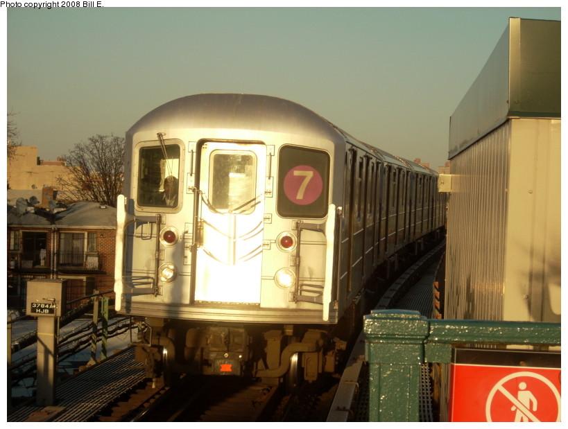 (153k, 819x619)<br><b>Country:</b> United States<br><b>City:</b> New York<br><b>System:</b> New York City Transit<br><b>Line:</b> IRT Flushing Line<br><b>Location:</b> Junction Boulevard <br><b>Route:</b> 7<br><b>Car:</b> R-62A (Bombardier, 1984-1987)   <br><b>Photo by:</b> Bill E.<br><b>Date:</b> 3/29/2008<br><b>Viewed (this week/total):</b> 0 / 1461