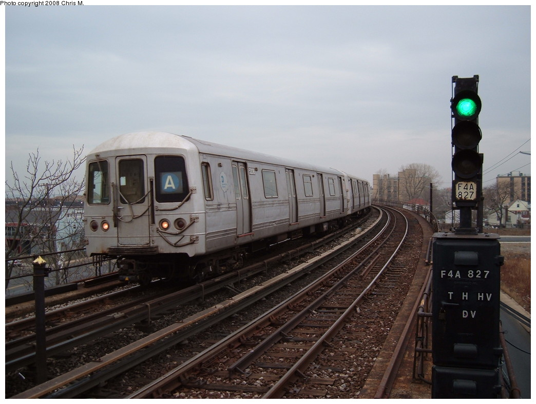 (198k, 1044x788)<br><b>Country:</b> United States<br><b>City:</b> New York<br><b>System:</b> New York City Transit<br><b>Line:</b> IND Rockaway<br><b>Location:</b> Beach 60th Street/Straiton <br><b>Route:</b> A<br><b>Car:</b> R-44 (St. Louis, 1971-73) 5206 <br><b>Photo by:</b> Chris M.<br><b>Date:</b> 1/29/2008<br><b>Viewed (this week/total):</b> 0 / 1665