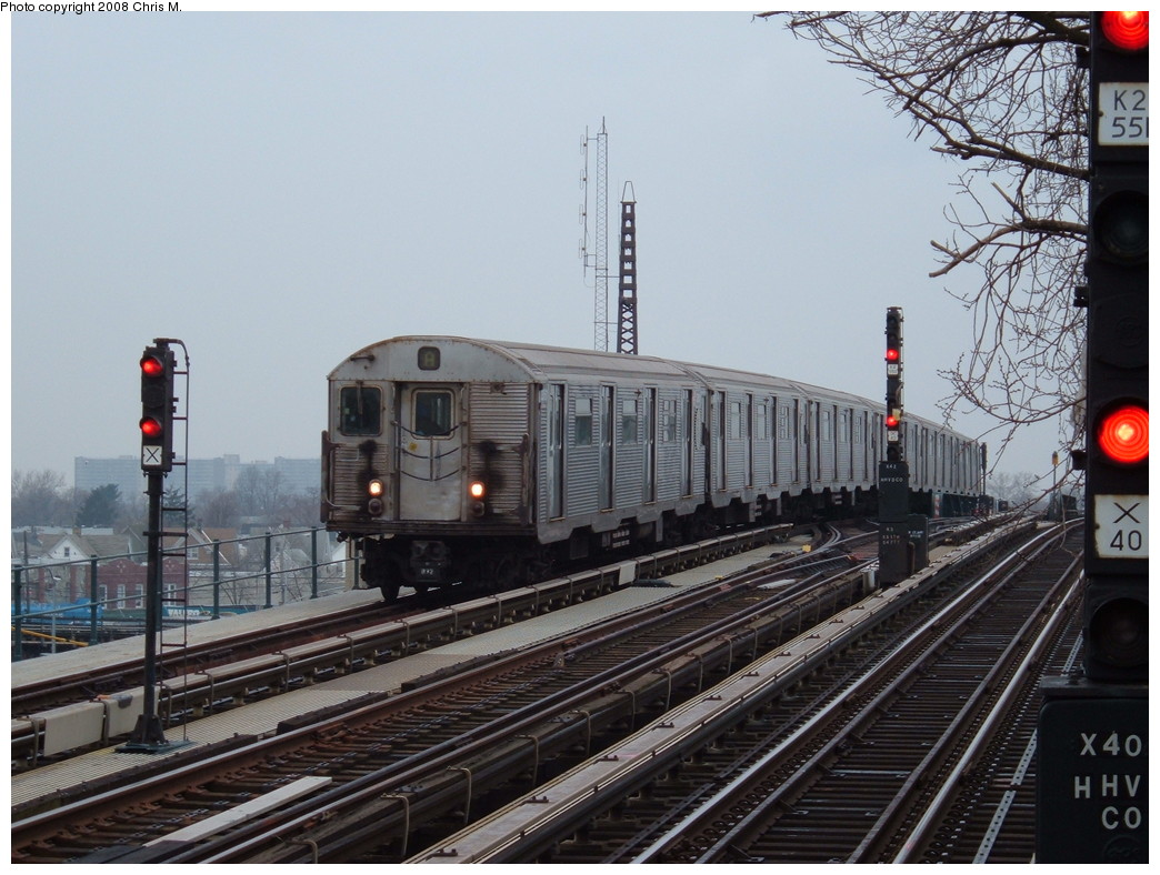 (230k, 1044x788)<br><b>Country:</b> United States<br><b>City:</b> New York<br><b>System:</b> New York City Transit<br><b>Line:</b> IND Fulton Street Line<br><b>Location:</b> 104th Street/Oxford Ave. <br><b>Route:</b> A<br><b>Car:</b> R-32 (Budd, 1964)  3361 <br><b>Photo by:</b> Chris M.<br><b>Date:</b> 1/29/2008<br><b>Viewed (this week/total):</b> 0 / 2011