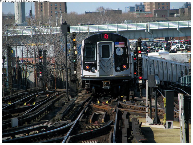 (235k, 820x618)<br><b>Country:</b> United States<br><b>City:</b> New York<br><b>System:</b> New York City Transit<br><b>Location:</b> Coney Island/Stillwell Avenue<br><b>Route:</b> N<br><b>Car:</b> R-160B (Kawasaki, 2005-2008)  8902 <br><b>Photo by:</b> Andrew Johnson<br><b>Date:</b> 4/2/2008<br><b>Viewed (this week/total):</b> 0 / 2659
