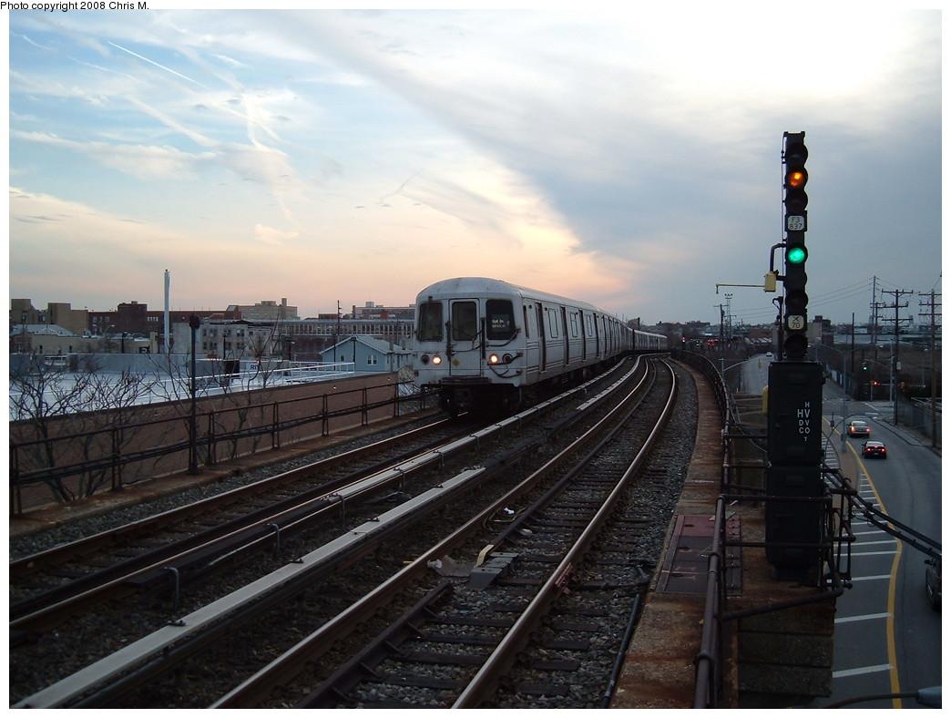 (207k, 1044x788)<br><b>Country:</b> United States<br><b>City:</b> New York<br><b>System:</b> New York City Transit<br><b>Line:</b> IND Rockaway<br><b>Location:</b> Beach 105th Street/Seaside <br><b>Route:</b> A<br><b>Car:</b> R-44 (St. Louis, 1971-73) 5436 <br><b>Photo by:</b> Chris M.<br><b>Date:</b> 4/5/2008<br><b>Viewed (this week/total):</b> 1 / 1702