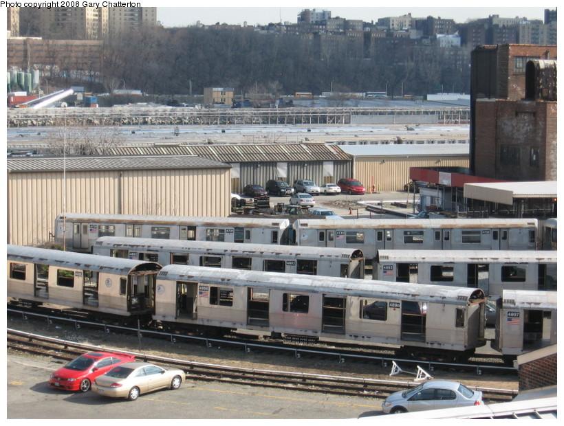 (171k, 820x620)<br><b>Country:</b> United States<br><b>City:</b> New York<br><b>System:</b> New York City Transit<br><b>Location:</b> 207th Street Yard<br><b>Car:</b> R-42 (St. Louis, 1969-1970)  4896 <br><b>Photo by:</b> Gary Chatterton<br><b>Date:</b> 3/11/2008<br><b>Viewed (this week/total):</b> 0 / 1098
